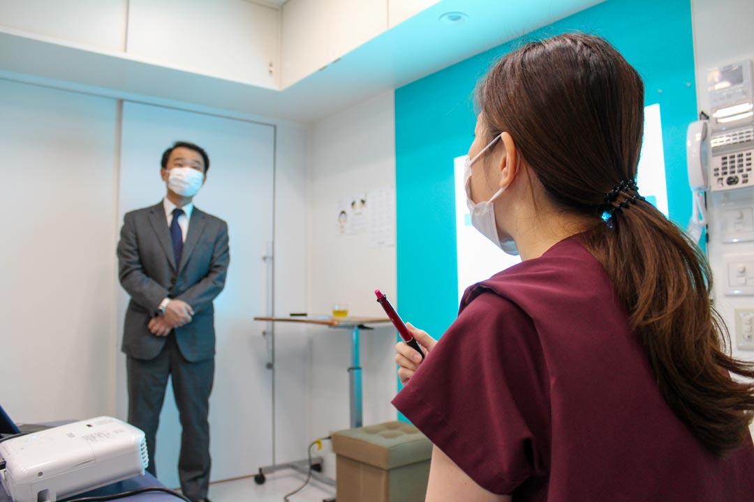 レーザー医療脱毛講習会の様子4