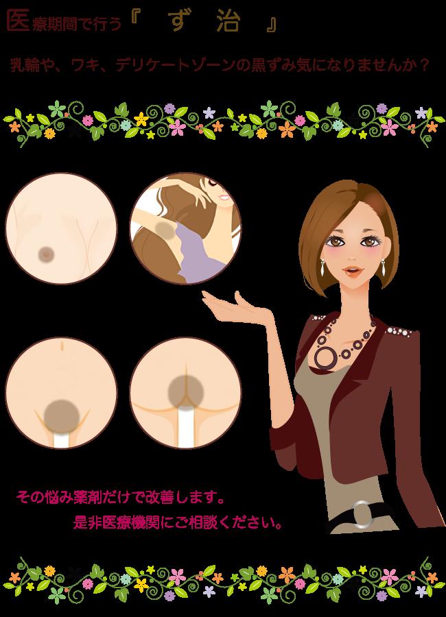 デリケートゾーンの黒ずみ治療 熊本